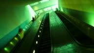 escalators at Dupont Circle Metro Station