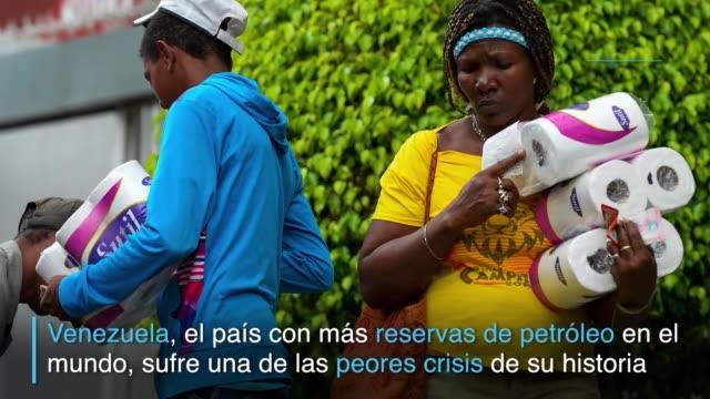 Escasez de alimentos y medicinas inflacion contrabando de bienes basicos devaluacion violencia criminal