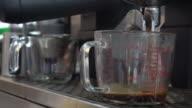 Espresso koffie voor maken.