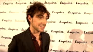 Esquire magazine relaunch GVs Katie Larmour GVs Alex Zane Alex Zane interview SOT On work working on rude tube in laptop in pants glad to be getting...