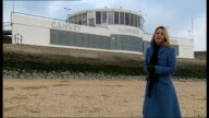 Essex Canvey Island EXT Reporter to camera