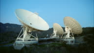 MS Establish three satellite tracking dishes
