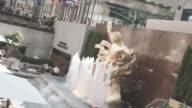Establishing shot of New York City's Rockefeller Center