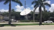 Establishing shots of Univision Headquarters