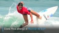 Estados Unidos alcanzo el oro individual femenino y Argentina el masculino en el Mundial de Surf que se desarrollo en Costa Rica mientras Peru se...