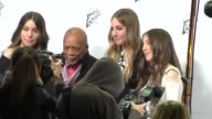 Este Haim Danielle Haim Alana Haim Quincy Jones arrives to the Stella McCartney Autumn 2016 Presentation at Amoeba Records in Hollywood in Celebrity...