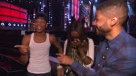 INTERVIEW Estelle Jussie Smollett and Yazz at MGM Grand on May 15 2015 in Las Vegas Nevada