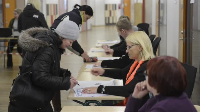 Estonians vote in an election marked by jitters over a militarily resurgent Russia and a popular pro Kremlin party with the security focused centre...