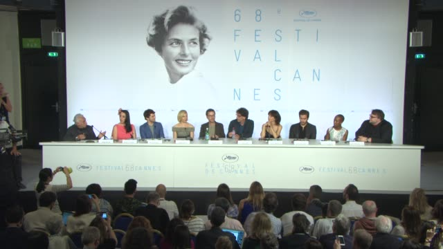INTERVIEW Ethan Coen Joel Coen on being asked to be on the jury at Jury Press Conference at Palais des Festivals on May 13 2015 in Cannes France