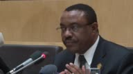 Ethiopian leader Hailemariam Desalegn takes over as African Union chairman replacing Benins President Thomas Boni Yayi in the one year post CLEAN...