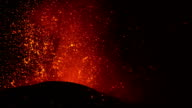 Etna paroxismal eruption