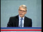 Euro election manifestos launched CMS PM John Major pkf SOT this election isn't some trivial opinion poll / it's an election about issues of real...