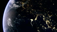 Europe and middle east from space