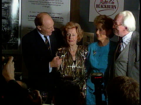 Britain's position Lancs CMS Labour Leader Neil Kinnock MP wife Blackpool Glenys Baroness Barbara Castle and TX Former Labour Leader Michael Foot MP...