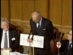 ERM City of London Guildhall CMS Helmut Schlesinger speech SOF monetary amp economic union without discipline would cause considerble problems