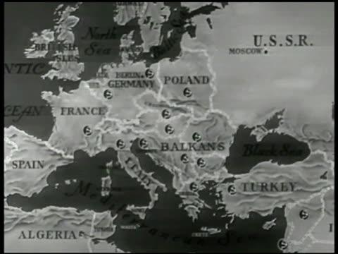 MAP Europe France Germany Poland Italy