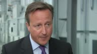 Government under pressure to do more ENGLAND County Durham Newton Aycliffe Hitachi INT David Cameron MP interview SOT I would say the people who are...