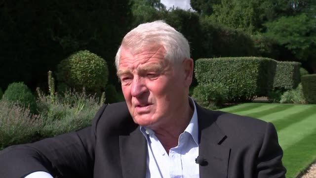 Lord Ashdown interview ENGLAND EXT Lord Ashdown interview SOT on David Cameron reaction to Syrian refugee crisis