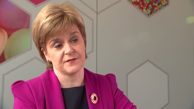 Nicola Sturgeon interview Sturgeon interview SOT on Jeremy Corbyn election and possibility of new Scottish Referendum / on common ground with Corbyn...