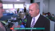 UK response to refugee crisis ENGLAND Gloucestershire Chipping Sodbury INT Reporter LIVE to camera James Ball LIVE interview SOT Reporter LIVE to...