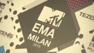 Europe Music Awards on October 25 2015 in Milan