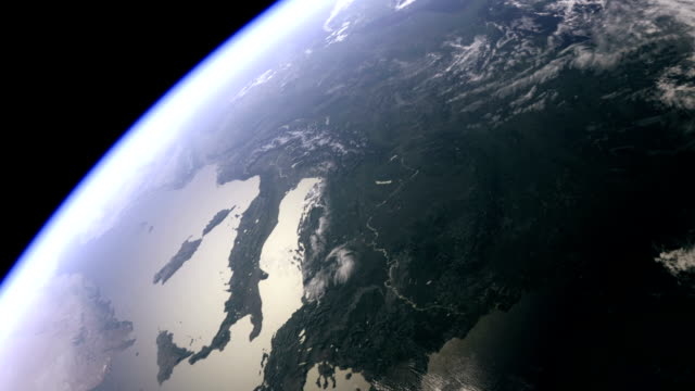 Europe seen from space