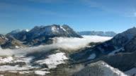 European Alps in Winter