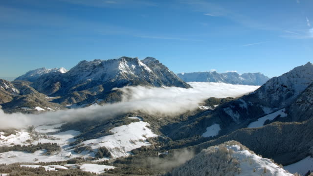 European Alps in Winter