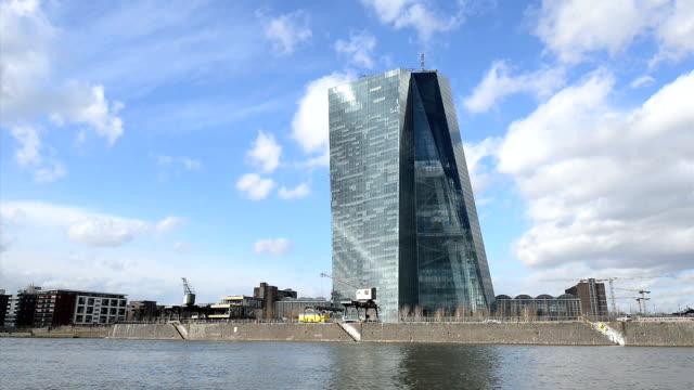 EZB European Central Bank Frankfurt Headquarter HD