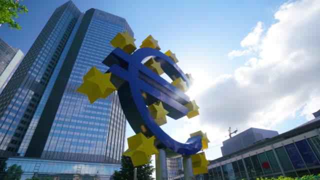 Banca centrale europea di Francoforte,