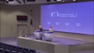 European Commission Deputy Chief Spokesperson Mina Andreeva and Maja Kocijancic EEAS Spokesperson for European Neighbourhood Policy and Enlargement...