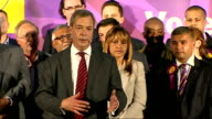 Nigel Farage speech Nigel Farage speech continued SOT main concern of public is 'open door immigration'/ we need to take back control of our borders/...