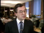 Radar controversy Keith Sykes interview SOT costs will be higher if both countries are working on the radar system/ suggests that the West Germans...