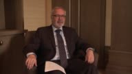 European Investment Bank President Werner Hoyer speaks during an exclusive interview on the sidelines of the firstever World Humanitarian Summit in...