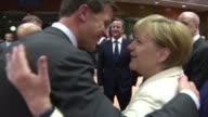 European leaders name Polish Premier Donald Tusk the next EU president and Italian Foreign Minister Federica Mogherini to head its diplomatic service...
