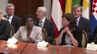 European ministers met in Rome on Monday in support of the Italian Minister for Integration Cecile Kyenge CLEAN European ministers meet in support on...