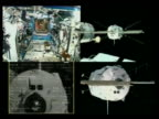 Europe's robot freighter the Jules Verne successfully docked on its maiden voyage Thursday with the International Space Station The Automated...