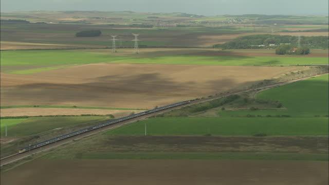 Eurostar Approaching Channel Tunnel