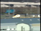 board voted out by angry shareholders ITN Eurostar train along People boarding Eurostar train