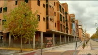 New Prime Minister Mariano Rajoy must take urgent action SPAIN Ciudad Valdeluz EXT General views of abandoned partiallybuilt apartment blocks Various...