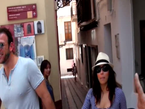 Eva Longoria and Ernesto Arguello are seen walking in Marbella Europa Press News on August 01 2013 in Marbella Spain