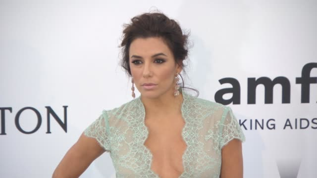 Eva Longoria at amfAR 22nd Cinema Against AIDS Gala Presented By Bold Films And Harry Winston at Hotel du CapEdenRoc on May 21 2015 in Cap d'Antibes...