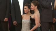 Eva Longoria Parker and Aishwarya Rai Bachchan at the Tournee Red Carpet Cannes Film Festival 2010 at Cannes