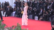 Eva Riccobono at the Opening Ceremony 'Gravity' Red Carpet in Venice Italy on 8/28/13