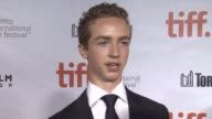 INTERVIEW Evan Bird on the story his character on and how it feels to have the film at TIFF 'Maps To The Stars' Premiere 2014 Toronto International...