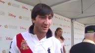 Evan Lysacek on being at event on working his face painting booth on the foundation at the 21st Annual 'A Time For Heroes' Celebrity Picnic Benefit...