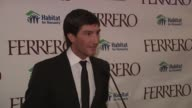 Evan Lysacek on Ferrero's donation to Habitat for Humanity and his involvement at the Ferrero Chocolates and Evan Lysacek Fashion Event at New York NY