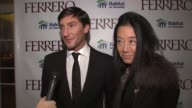 Evan Lysacek on his involvement and inspiration at the Ferrero Chocolates and Evan Lysacek Fashion Event at New York NY