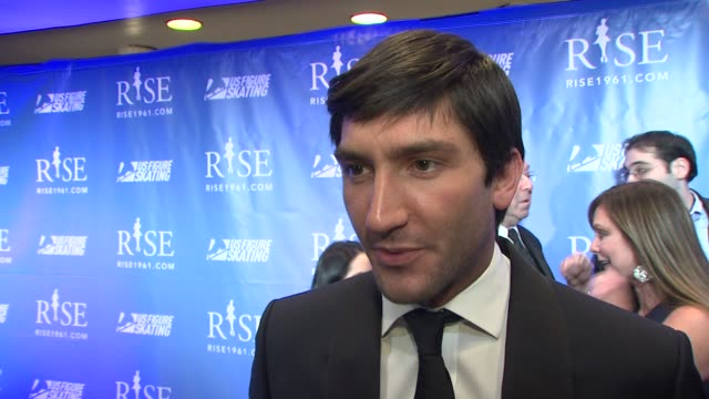 Evan Lysacek on this week being one year anniversary of his Olympic Gold Medal win On how his life has changed all that's come up for him after that...