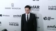 Evan Peters at amfAR's Inspiration Gala Los Angeles 2015 in Los Angeles CA